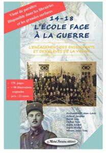 L'Ecole face à la guerre (L'engagement des enseignants et des élèves de la Vienne pendant la Première Guerre mondiale) dans Publications 1ere-208x300