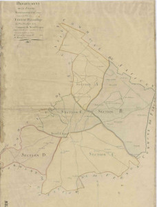 01a-plan cadastral de la commune de Nieuil l'Espoir